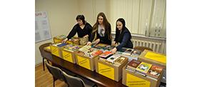 Самарские нотариусы приняли участие в акции «Подари книгу!»